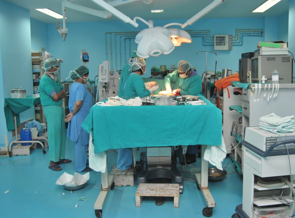 Operation Theater (Thoracic Surgery)